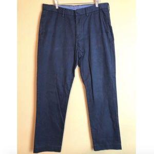 J. Crew Bowery Slim Navy Pants 34x31